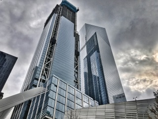 Obr. 19. Věže 3WTC a4WTC v prosinci 2016, zdroj: Sean Porter