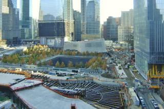 Obr. 03. Rozestavěný objekt WTC Vehicle Security Center (listopad 2012)