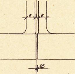 Obr. 2b Detail styku jednotlivých dílů vazníku SPP 14-24/6