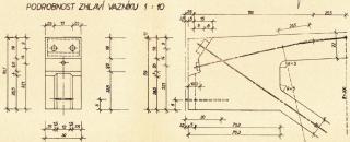 Obr. 3 Detail zhlaví vazníku SPP 14-24/6