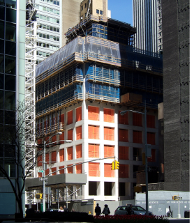 Obr. 18 Průběh výstavby betonové konstrukce věže, duben 2013