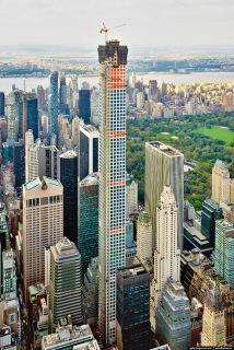 Obr. 19 Průběh výstavby betonové konstrukce věže, listopad 2014