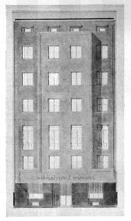 Dům inženýrské komory, 1923–1925