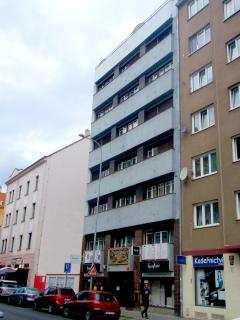 Nájemní dům paní Kreisingerové v Praze-Holešovicích, září 2018