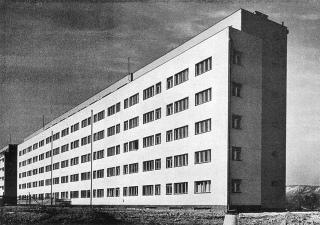 Nájemní byty pro chudé v pražské Libni, 1940