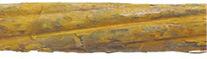 Tab. 1 Předpínací výztuž [4] - 4 Intenzivnější koroze s přechodem k důlkové formě. Korozně oslabeno až 2,72 % průřezové plochy.