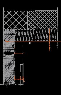 Obr. 13 Detail kotvení fasády