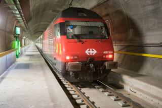 Vlaková souprava v multifunkční stanici