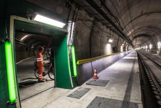 Multifunkční stanice Sedrun – úniková cesta