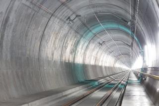 Úsek Faido–Bodio, dokončený tunel