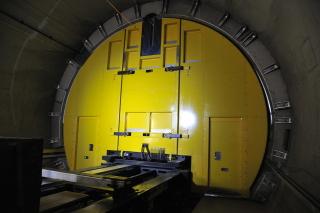 Úsek Faido – dveře do tunelové propojky