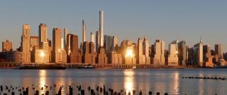 Superštíhlé mrakodrapy v New Yorku (foto: Gary Hershorn)