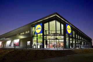 Řetězec supermarketů Lidl, BIM byl využit pro kompletní technologii vzduchotechniky, vytápění a chlazení. (zdroj: http://www.lidl.cz/)