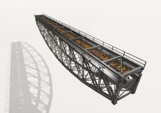 04 Stávající ocelová konstrukce