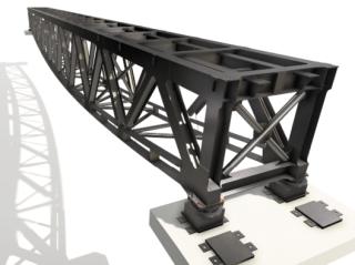 05 Model NOK bez železničního svršku a chodníků