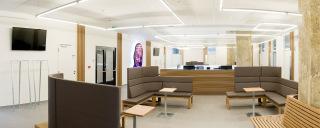 Waltrovka - interiér kliniky – Centrum pohybové medicíny