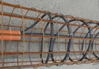 Obr. 08 Energetické piloty slouží pro odebírání energie pro potřeby vytápění a naopak pro ukládání odpadního tepla při potřebách chlazení