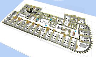 Obr. 09  Propojení klasické 2D dokumentace s 3D modelem je základem pro využití modelu při realizaci stavby