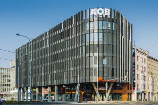 Obr. 03 Administrativní budova Argentinská Office Building v Praze-Holešovicích, pohled z křižovatky ulic Argentinská a Plynární