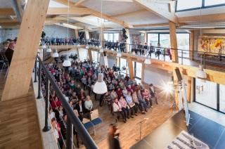 Velký sál, pohled z galerie do auditoria