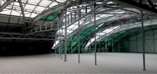 Obr. 20 Konstrukce pro stabilizaci příček sálů E