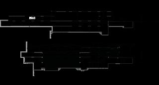 Obr. 06 Řezy T10 – T10, T17 – T17 stavbou