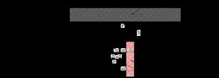 Obr. 24 Detail napojení hrázděné stěny na strop