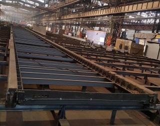 Výroba ocelové části mostovky