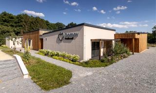 Obr. 01 Bytový dům pro komunitní bydlení seniorů Domov Podhradí – Týnec nad Labem, budova po dokončení
