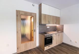 Obr. 13 Interiér, kuchyňský kout v pokojích