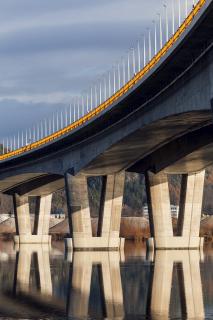 Řešení mostních pilířů