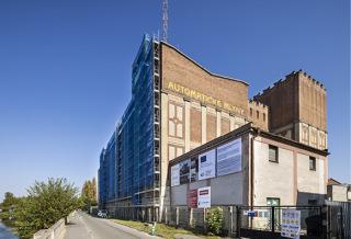 Obr. 04 Obnova západní fasády hlavní budovy