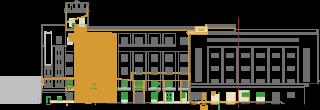 Obr. 08 Pohled východní – stávající stav (zdroj: TRANSAT architekti)