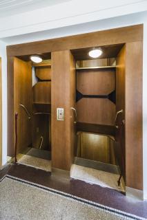 Výtah páternoster – současný stav (foto: Tomáš Malý)