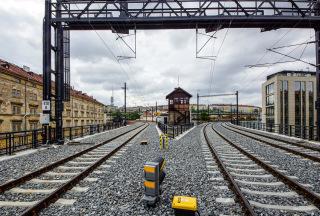 Obr. 17 Negrelliho viadukt těsně před zprovozněním