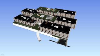 BIM model nové administrativní budovy ČSOB