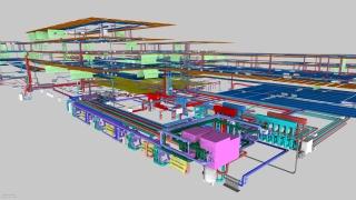 BIM model TZB budovy