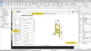 Obr. 3 Prostředí pro specifikaci požadavku na výrobek předstěnového instalačního systému