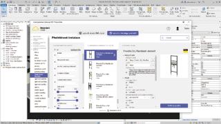 Obr. 4 Prostředí bimproject.cloud v pluginu pro Revit při specifikaci reálného výrobku – výběr sady parametrů předstěnového instalačního systému z katalogu výrobků Viega