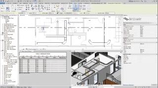 Obr. 6 Příklad použití systémových typů BIM objektů v programu Revit – návrh kabelových žlabů Arkys