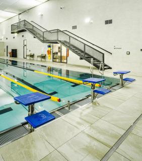 Sportovní centrum Řepy - bazén (foto: Tomáš Malý)