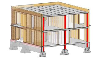 Obr. 5 Ukázka grafického výstupu ze systému BIM