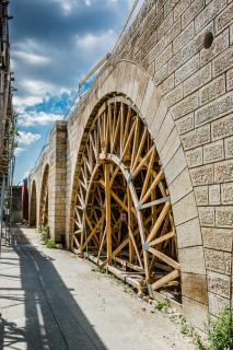 Rekonstrukce Negrelliho viaduktu (foto Tomáš Malý)