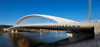 Obr. 03 Nový Trojský most v Praze