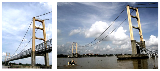 Obr. 07 Most Mahakam II v Indonésii