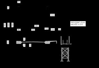 Příčný_řez_mostovkou_nového_mostu