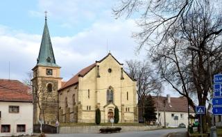 Obr. 1 Kostel sv. Jakuba Většího, Srbeč