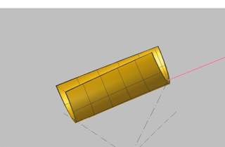 Obr. 3 Speciální čedičová tvarovka