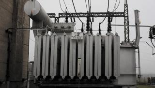 Obr. 07 Výkonový transformátor T101 110 ± 8 × 2 % / 22 / 6,3 kV, 40 MVA