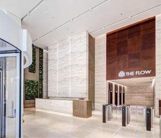Vestibul The Flow Building
